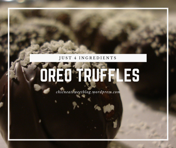 Oreo Truffles (Printable Recipe Card)