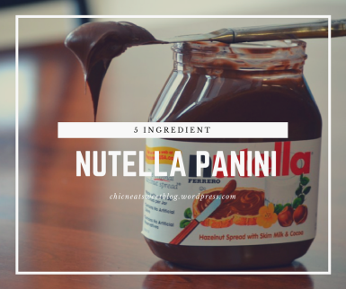 Nutella Panini featured image