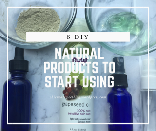 Natural Products you should usenow!