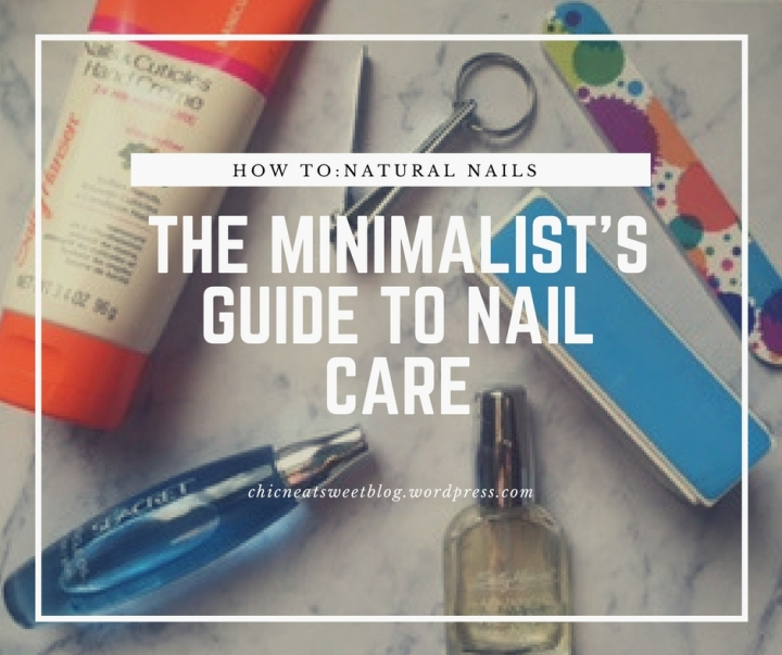 The Minimalists Guide to Natural Nail Care
