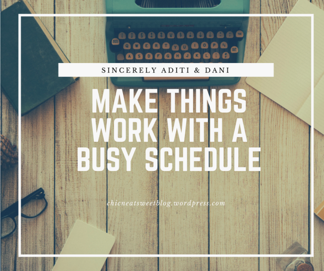 S.A. Busy Schedule