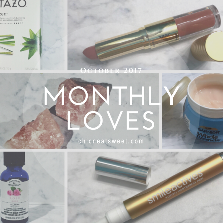 Monthly Loves October 2017