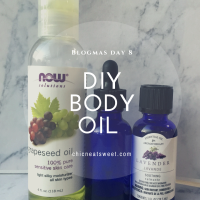 DIY Body Oil-Only 2 Ingredients!