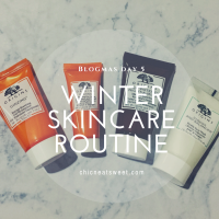 Winter Morning Skincare Routine