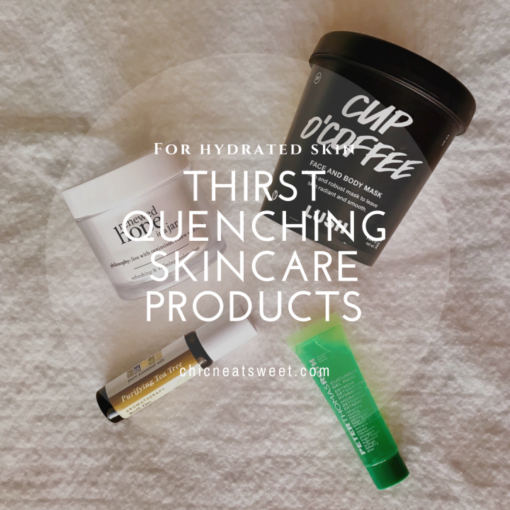 Thirst Quenching Skincare Products
