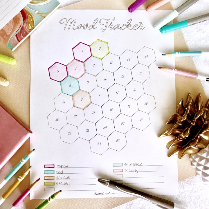 FREEBIE // Mood Tracker