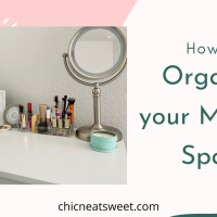 How I Organize my Makeup/Skincare Counter